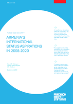 Armenia's international status aspirations in 2008-2020