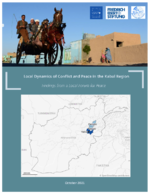 Local dynamics of conflict and peace in the Kabul region