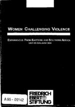 Women challenging violence