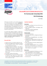 Kommunale Umweltpolitik