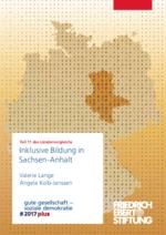Publikation: Inklusive Bildung in Sachsen-Anhalt - Teil 11 des Ländervergleichs